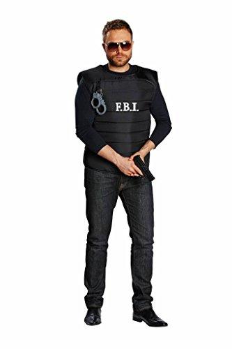 FBI Female Body Inspector Herren Kostüm Spezialeinheit Karneval