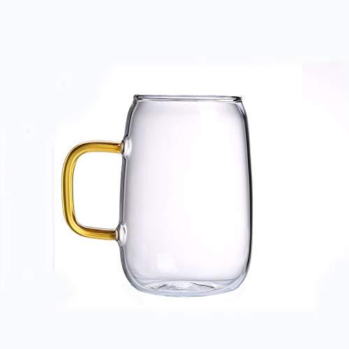 Huishoudelijke hittebestendige glazen fles koude ketel kop koud water temperatuur set massa stropdas koele gekookte waterpot, Kleur: Set a pot 2 kopjes