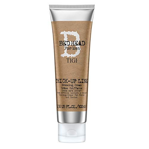 Bed Head for Men by Tigi Thick Up Mens Thickening Hair Cream for Volume 100...