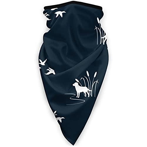 ZHANGPEIENfaqi Mascarilla deportiva a prueba de viento para pájaros y perros, máscara de tubo para la cabeza, pasamontañas al aire libre, color negro