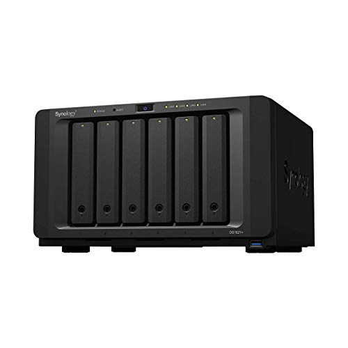 【NASキット】Synology DiskStation DS1621+ [6ベイ / クアッドコアCPU搭載 / 4GBメモリ搭載] 大容量6ベイ...