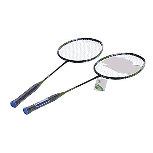 Bnineteenteam 1 Paar Badmintonschläger, SG8033 2 Spieler Badmintonschläger Set Leichte Doppelschläger für das Erwachsenentraining