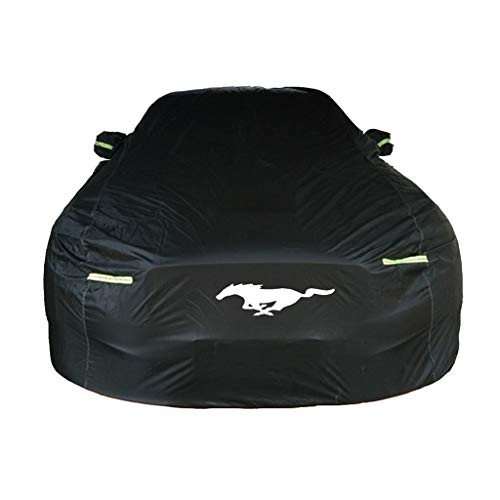 Kompatibel mit Ford Mustang Dedicated Car Cover Sunscreen Schnee- Regenfest Kratz- Four Seasons Universal-Car-Cover (Size : Ford Mustang)