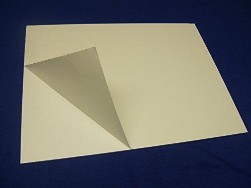 "Sintra e-PVC Self-Adhesive Mounting Board - White 24""x36"" (5 Sheets)"