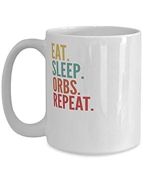 Orbs Crypto Eat Sleep Orbs Repeat Mug 15oz white