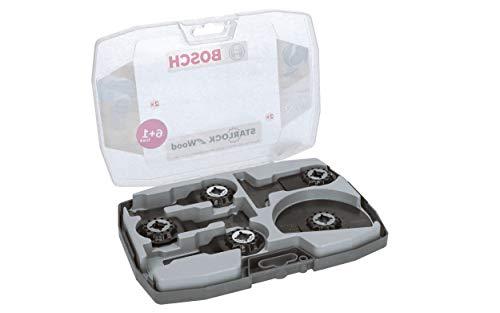 Bosch 2608664623 Starlock Multi Gereedschap Houten Bladenset 7 stuks