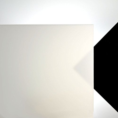 3mm Acrylglas Platte 100x70 cm weiß opal lichtdurchlässig 30%