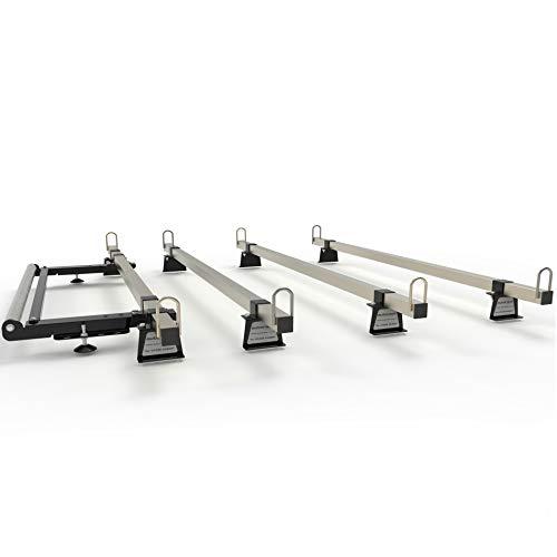 Baca de techo para furgoneta 4 barras con rodillo para: FIAT DUCATO (2008-en adelante) AutoRack TITAN Grado de construcción