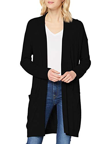 Sisley L/s Maglione Cardigan, Black 700, M Donna