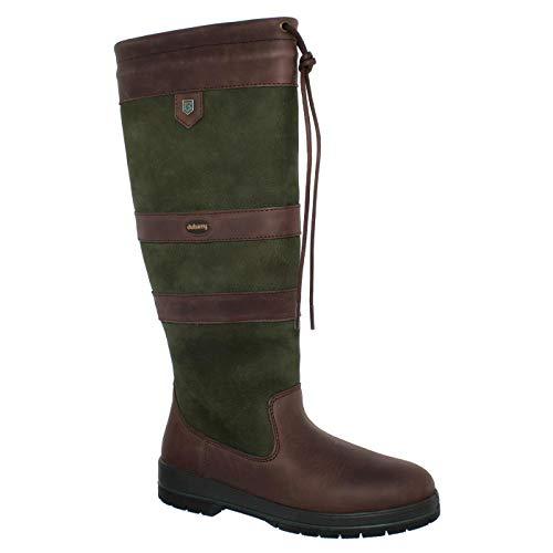 Dubarry Galway, Dry Fast - Dry Soft Leder, Ivy, (braun/Olive) Gore-Tex Ausstattung 3885-79 (Größe: 43)