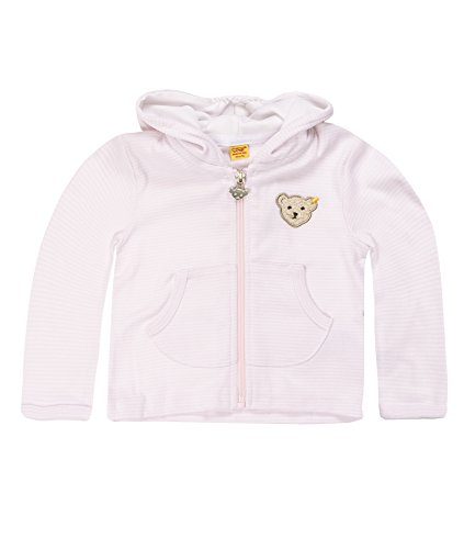 Steiff Unisex - Baby Sweatshirt,Rosa (Barely Pink 2560),74