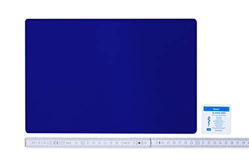 Flickly Anhänger Planen Reparatur Pflaster | in vielen Farben erhältlich | 30cm x 20cm | SELBSTKLEBEND (ultramarineblau)