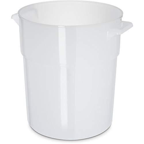 Large 6 Quart Plastic Dough Rising Bucket with Lid