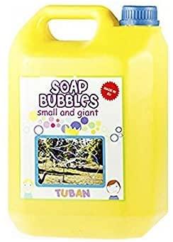 Ricarica Bolle di Sapone giganti - Tanica 5 Litri Liquido Professionale…