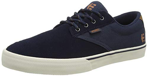 Etnies Jameson Vulc, Zapatillas de Skateboard Unisex Adulto, Azul (420/Navy/Silver 420), 36.5 EU