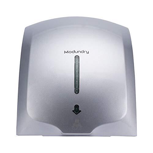Modundry Secador de Manos Electrónico con Sensor, Secadora de Manos Comercial y Hogar, ABS 2000W, Montado En La Pared -...