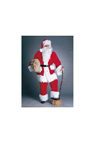 Traje de Santa, pana