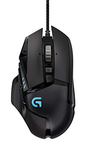 Logitech G502 Proteus Spectrum 12000DPI Right-Hand RF Wireless RGB Tunable Gaming Mouse