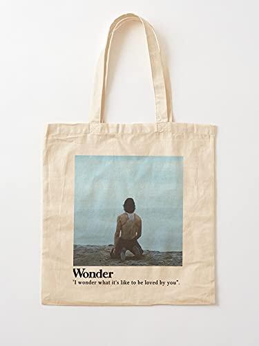 Générique Trendy - Álbum SM3 Wonder Sm4 Music Higher Intro | Bolsas de lona con asas, de algodón duradero