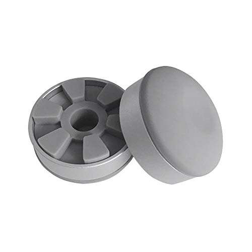 Base de enfriamiento del soporte del portátil Almohadilla de enfriamiento del cuaderno de aleación de aluminio Almohadilla de goma antideslizante del pie para Pro Air i Pad Tabletas de superficie 2PCS