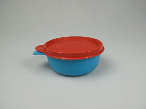 TUPPERWARE Kinder Teller Box rot blau Tupperbox Aufbewahrung Kinderteller Baby P 18438