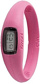 IOION E-PNK11-III Casual Watch For Unisex Digital Silicone - Pink