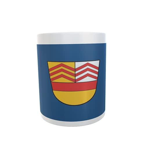 U24 Tasse Kaffeebecher Mug Cup Flagge Bad Vilbel