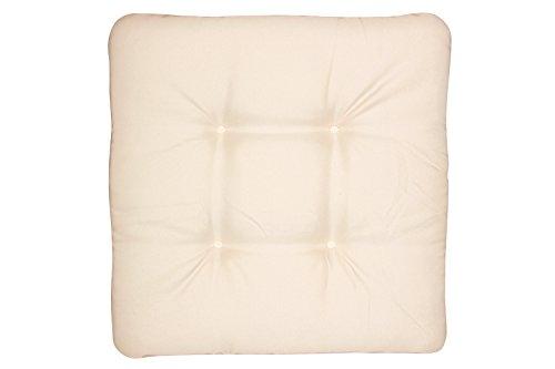 Doppler Coussin d'assise en Textile Motif D 820 Naturel 45 x 45 cm