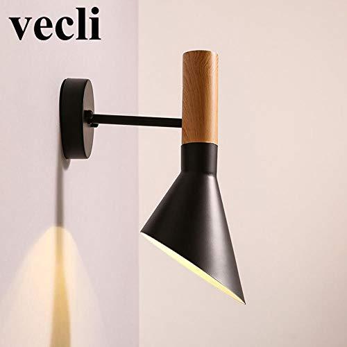 Nieuwe creatieve wandlamp, BH Nordic vintage trechter wandlampen lamp bar café restaurant baby slaapkamer nacht woonkamer eetkamer trapwandlamp