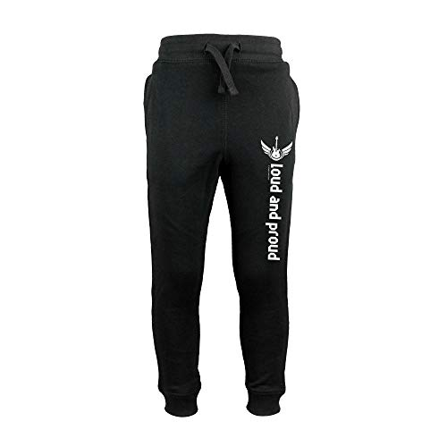 Metal Kids Loud and Proud (Pants) - Kinder Jogginghose, schwarz, Größe 128 (8-9 Jahre), 100% Statement