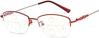 Safety Glasses Reading Glasses ,Multifocal Reading Glasses Multi-focus Presbyopia Ultralight Superfine Intelligent Automat...