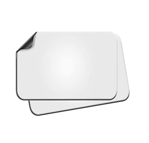 2 Pack of Blank Magnets with Rounded Corners, Blank Car Magnet Set – Magnet for Commercial or Marketing Vehicles/Cars to Advertise Business, Company Logo , and Prevent Car Scratches & Dents (18x24)