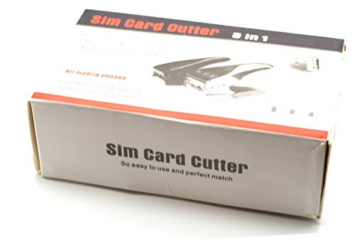 New Brand 3 in 1 Sim/Micro Sim/Nano Sim Card Cutter For Cell Phones and Tablet