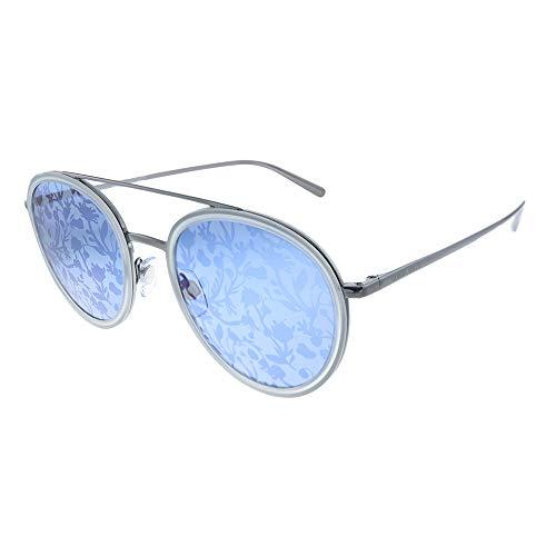 Armani GIORGIO 0AR6051 Gafas de sol, Gunmetal/Transparente Grey, 51 para Mujer