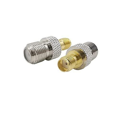 SUNTAOWAN 1 unids SMA a BNC TNC TPET Adaptador Conector Conector Conector Jack WiFi Antena Convertidor RF para Radio SDR CCTV Ham CÁMARA UV Electrónica (Color : 6)