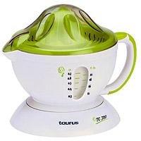 Taurus TC 700, 220-230 V, 50 Hz, 173 x 190 x 211 mm, Verde, Blanco - Exprimidor