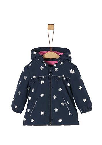 s.Oliver Junior Baby-Mädchen 405.12.002.16.151.1279019 Übergangsjacke, Blau (Navy), 80