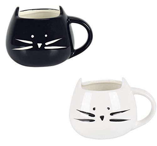 Tougo 2 Pièces Tasse à Café Mug en Céramique Cadeaux de Anniversaire Noël Drôles d'animaux...