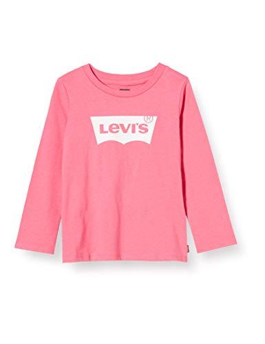 Levi's Kids Lvg L/S Batwing Tee Camiseta Bebé-Niñas Camellia Rose 3 meses