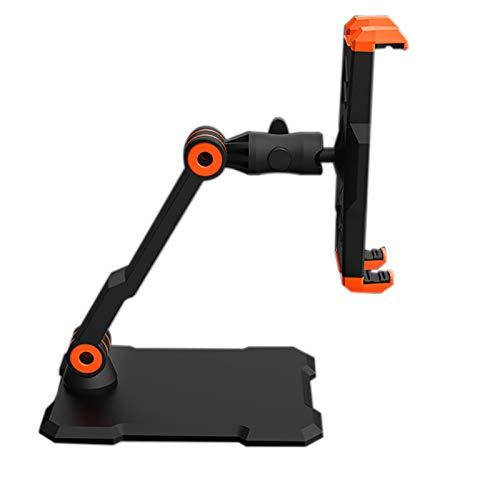 Huante - Soporte para tablet de escritorio multifuncional para teléfono móvil, tableta, soporte portátil, plegable, general