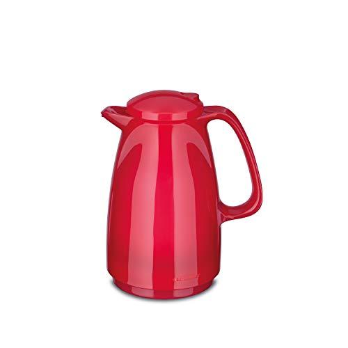 ROTPUNKT Isolierkanne 225 Bella 0,5 l | Zweifunktions-Drehverschluss | BPA-frei - gesundes Trinken | Made in Germany | Warm + Kalthaltung | Glaseinsatz (Glossy Bubblegum)