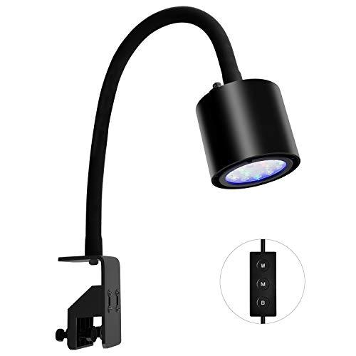 professionnel comparateur NICREW Leaf LED 30W Lampe LED Aquarium d'eau de mer, éclairage de mer à spectre complet à intensité variable… choix