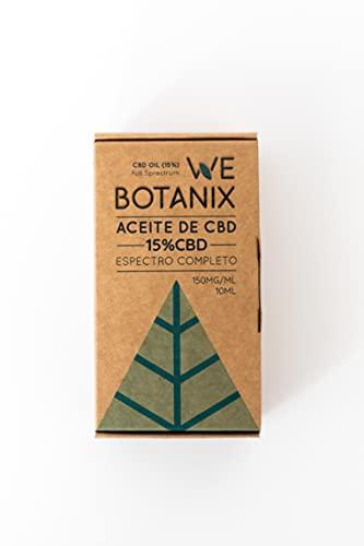WeBotanix   Aceite CBD 15%   CBD Oil en Gotas   10...