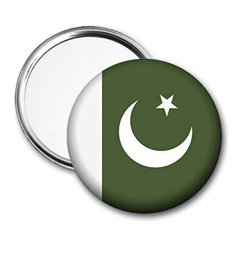 Pakistan Vlag Pocket Spiegel voor Handtas - Handtas - Cadeau - Verjaardag - Kerstmis - Stocking Filler - Secret Santa