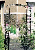 日本製 スライドフラワーアーチ バラアーチ 薔薇アーチ 高さ210cm 植木鉢 鉢 バラ ばら 薔薇 園芸 庭 ガーデニング