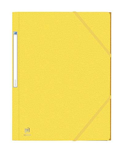 Oxford Eurofolio elastomap A4 - pak 10 geel