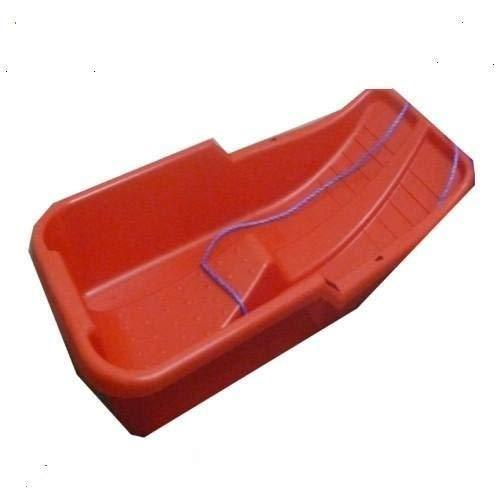 Keto Plastics Snow Sledge/Sled Red Toboggan (Made In UK) (RED)