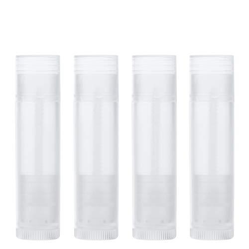Leer Lippenstift Behälter ROSENICE Lippenbalsam Rohr Hülse mit Kappen 25pcs