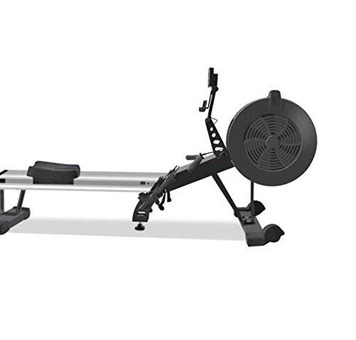Beirich Rowing Machine, máquina de Remo de peleado magnético con Pantalla LCD 440lb Capacidad de Peso Máquina de Fila Ejercicio Forey For Home Gym, Negro