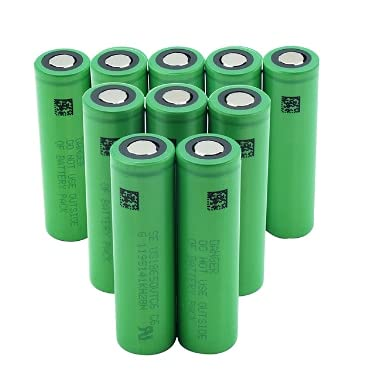 Batteria ricaricabile agli ioni di litio VTC6 3.7V 3000mAh 18650 US18650VTC6 per strumenti di giocattoli per sigarette elettroniche Sony flashligh 8pcs